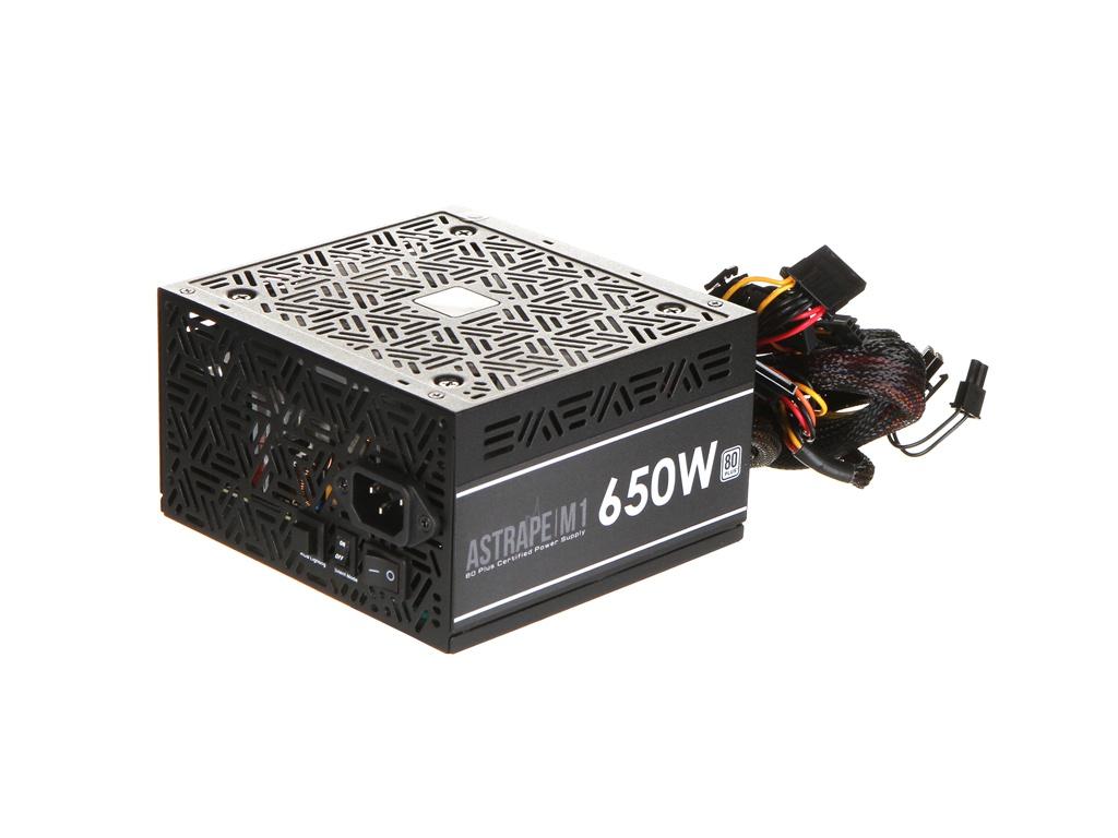 Блок питания GAMDIAS ASTRAPE M1-650W higgs 650w