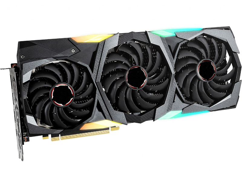 Видеокарта MSI GeForce RTX 2080 1605Mhz PCI-E 3.0 8192Mb 15500Mhz 256 bit 3xDP HDMI USB-C HDCP SUPER GAMING X TRIO