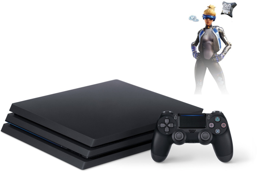 цены Игровая приставка Sony PlayStation 4 Pro 1Tb Black CUH-7208B + игра Fortnite VCH PS719941507