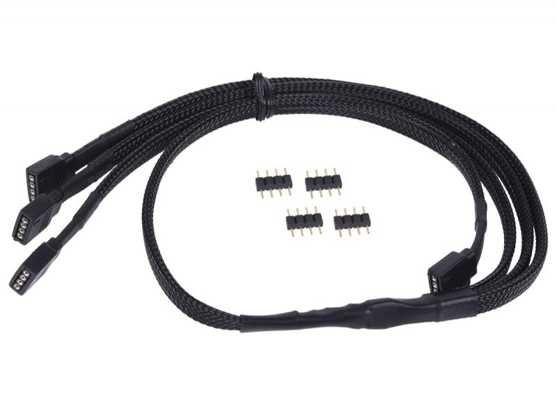 Кабель разветвитель Alphacool 4pin - 3х Y-cabel RGB 60cm 18539/1013985
