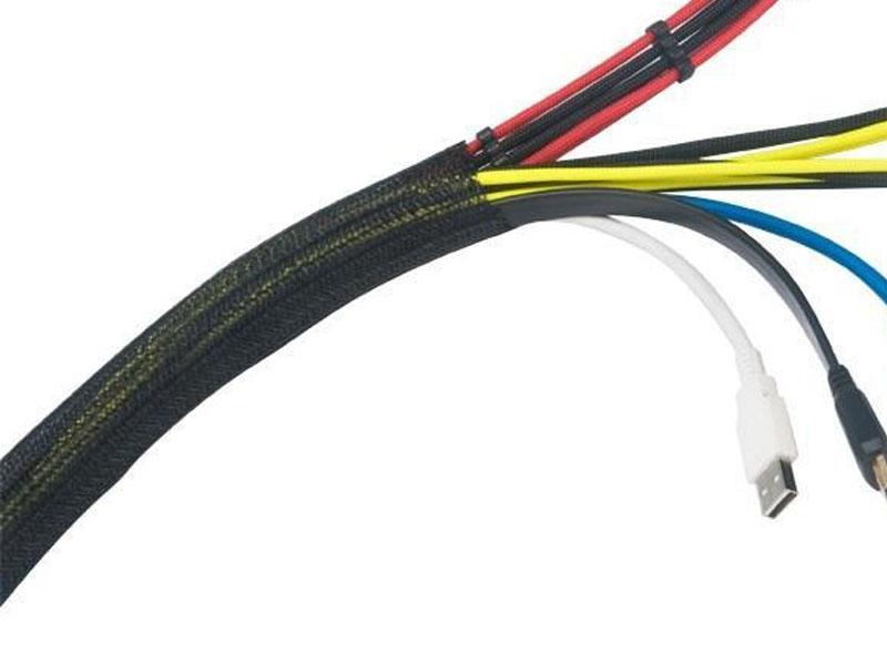 Оплётка для укладки кабелей в корпусе Akasa 2M Braided Cable Sleeve AK-TK-03BK