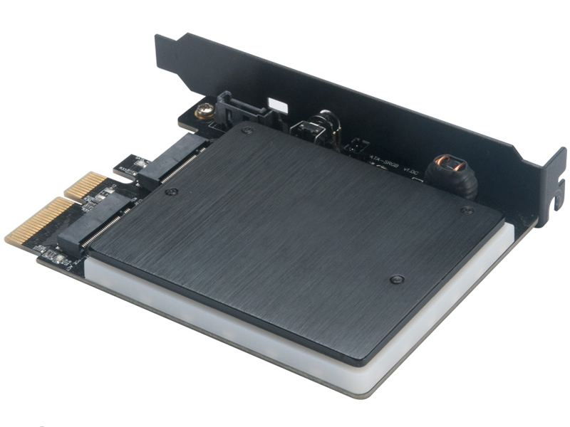Адаптер Akasa M.2 PCIe and SATA SSD Adapter AK-PCCM2P-03