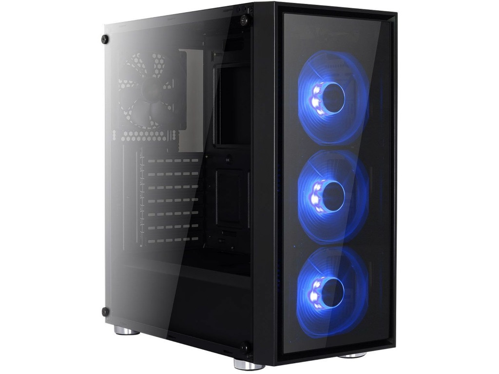 Корпус AeroCool Midi Tower Quartz Blue без б/п 68941