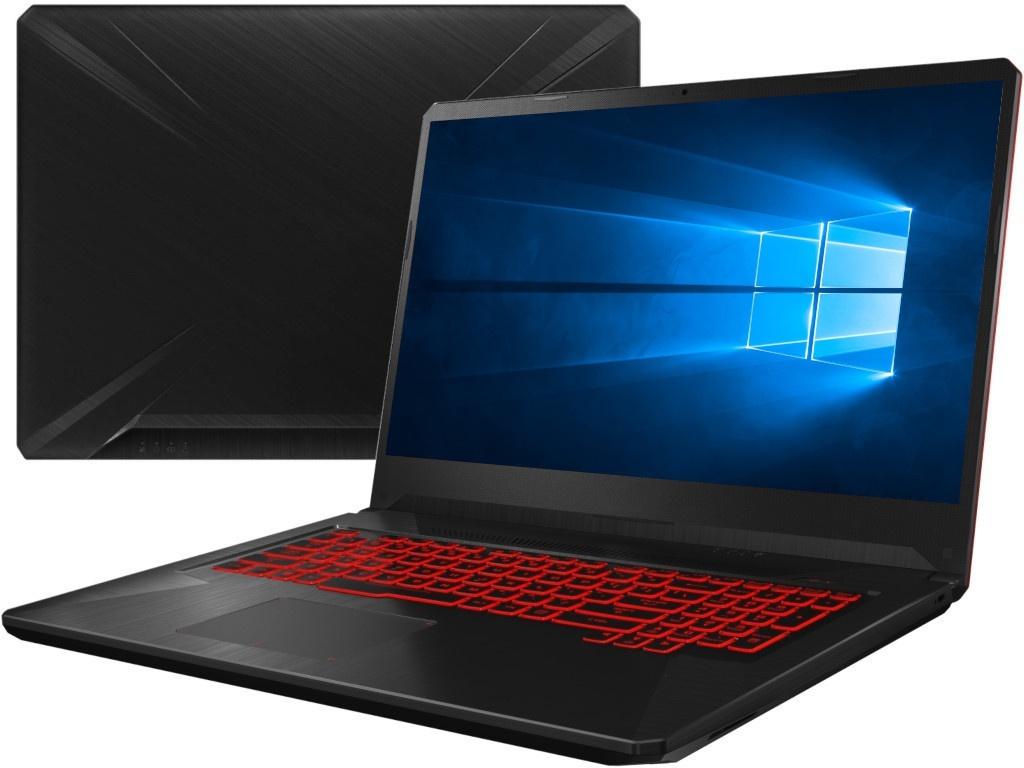 Ноутбук ASUS TUF FX705DY-AU054T Black 90NR0192-M01530 (AMD Ryzen 5 3550H 2.1 GHz/6144Mb/1000Gb/AMD Radeon RX 560X 4096Mb/Wi-Fi/Bluetooth/Cam/17.3/1920x1080/Windows 10 Home 64-bit) ноутбук asus tuf fx505dy bq024t 90nr01a2 m02100 amd ryzen 5 3550h 2 1 ghz 8192mb 512gb ssd no odd amd radeon rx 560x 4096mb wi fi cam 15 6 1920x1080 windows 10 64 bit