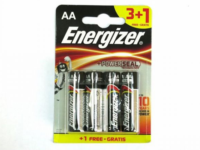 Батарейка AA - Energizer Max E91 1.5V (3+1шт) E300247800 / 26091