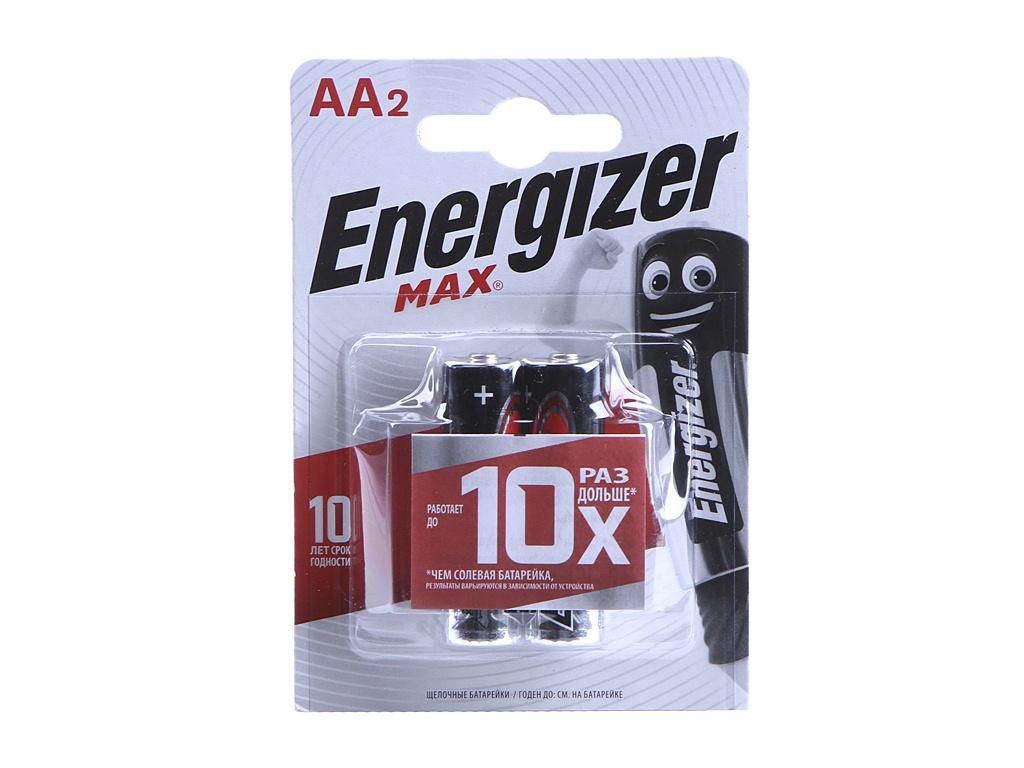 Батарейка AA - Energizer Max E91 1.5V (2шт) 26025