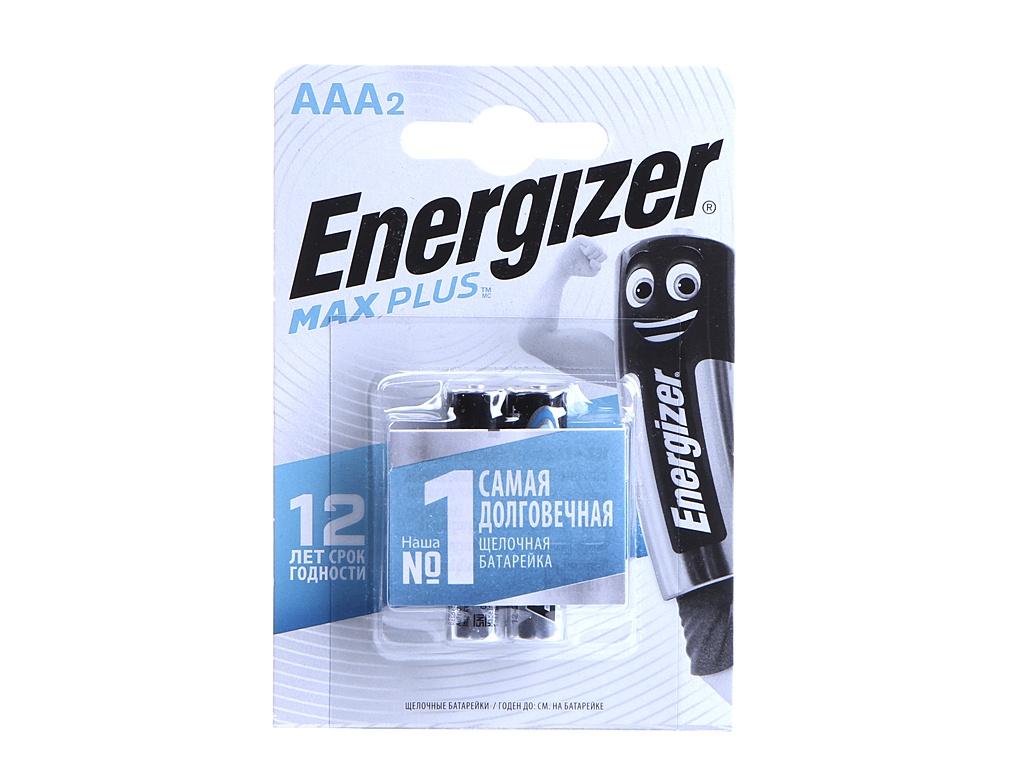 Батарейка AAA - Energizer Max Plus LR03/E92 1.5V (2шт) E301306501 / 39514