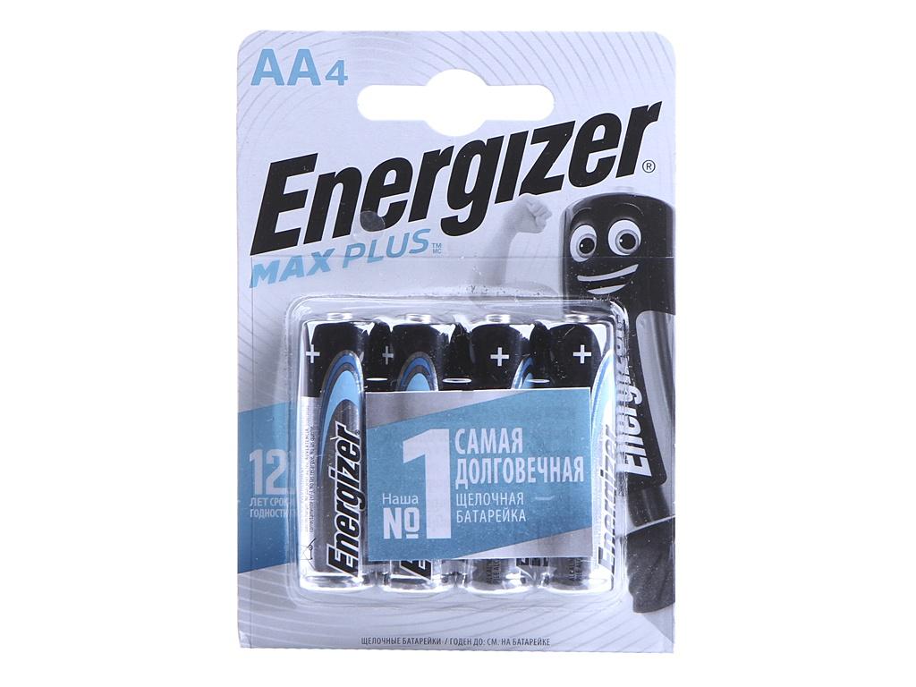 Батарейка AA - Energizer Max Plus LR6/E91 1.5V (4шт) Е301325001 / 38692