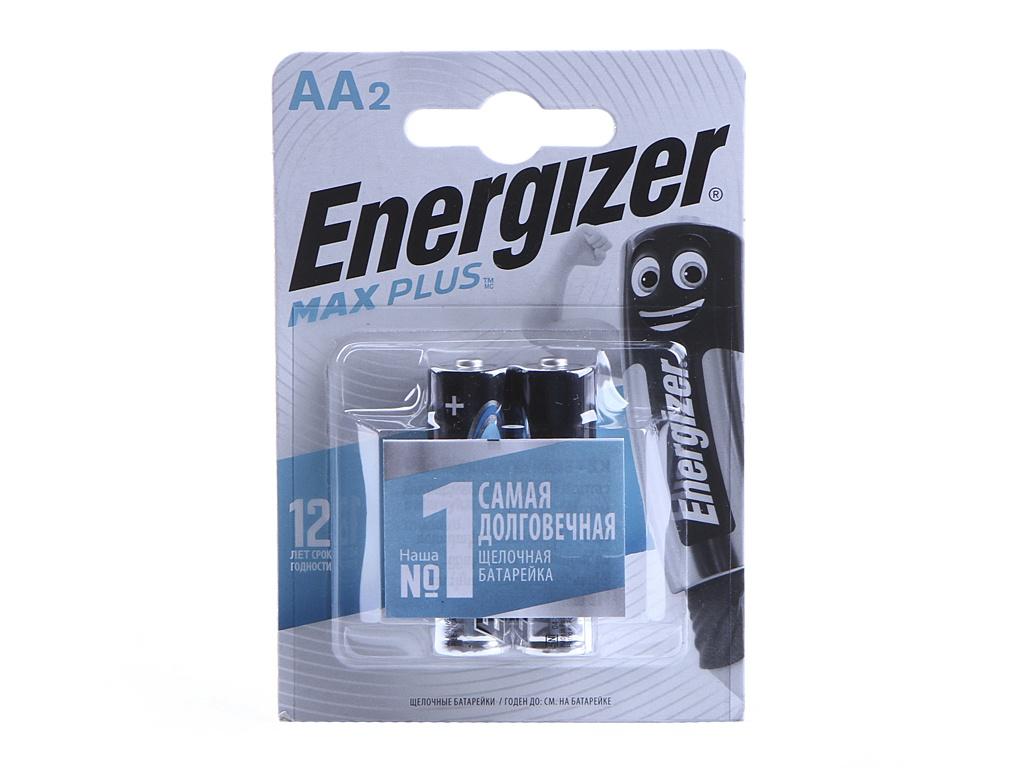 Батарейка AA - Energizer Max Plus LR6/E91 1.5V (2шт) E301323101 / 39516