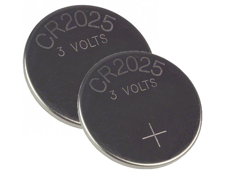 Батарейка CR2025 - Energizer Lithium 3V (2шт) E301021501 / 11655