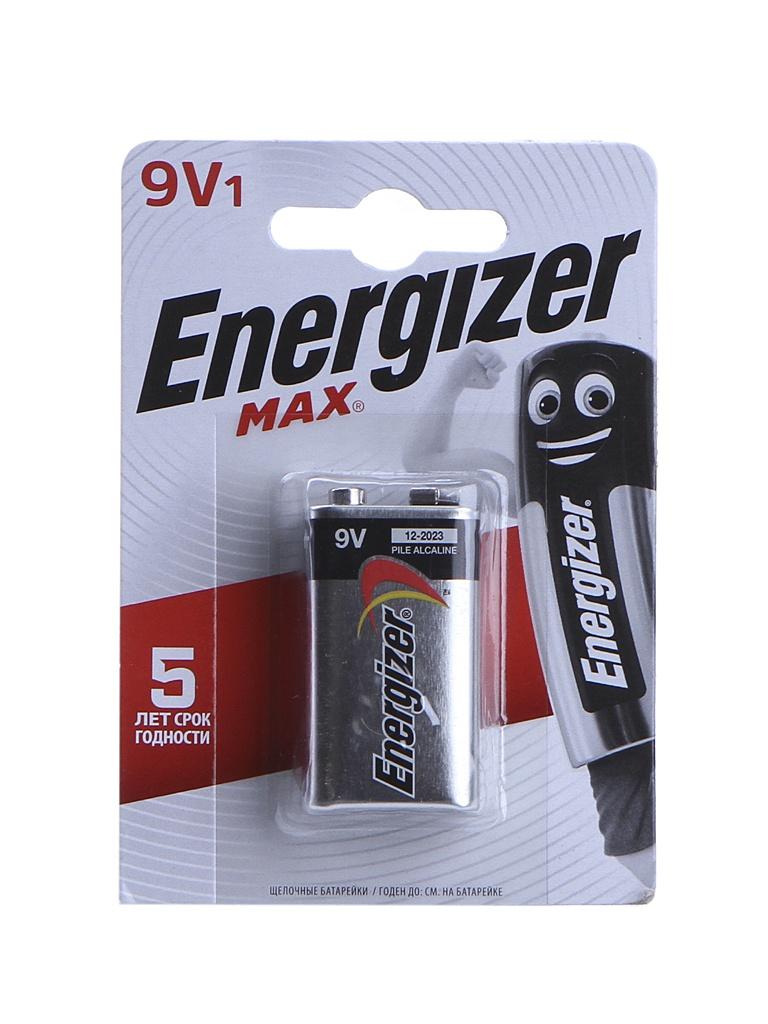 Батарейка Крона - Energizer Max 522/9V 1.5V (1шт) E301531801 / 26047
