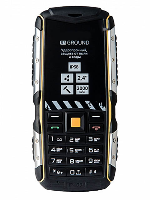 Сотовый телефон LEXAND R3 Ground Black мобильный телефон lexand a4 big