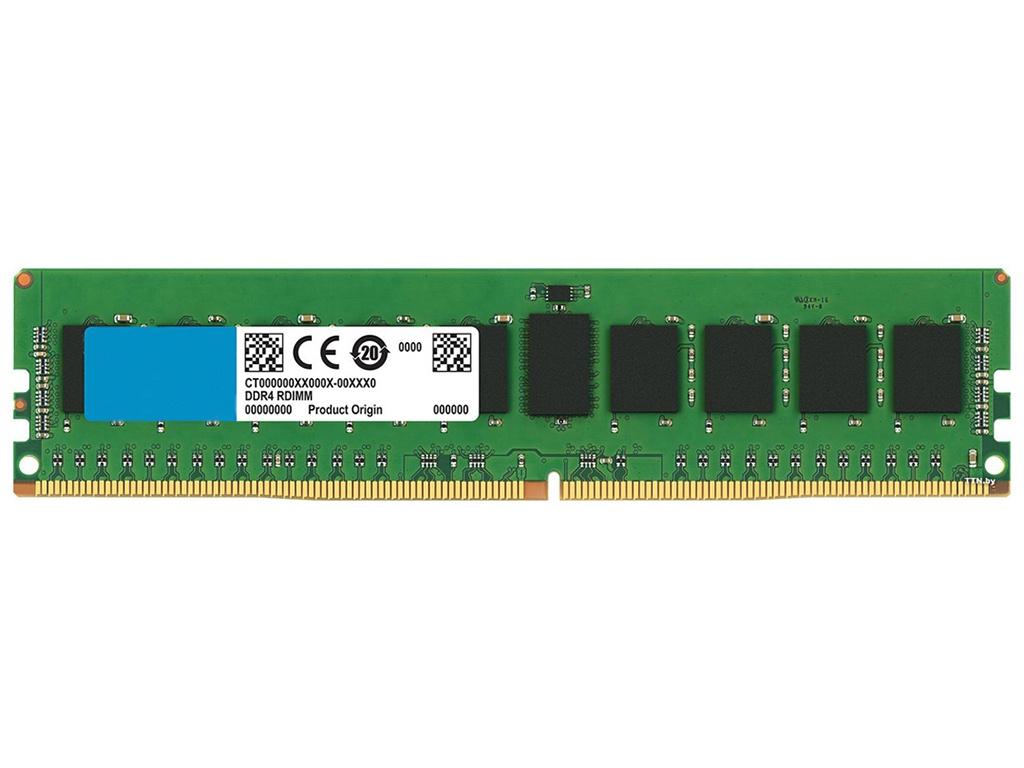 Модуль памяти Crucial Registered DDR4 DIMM 2666MHz PC4-21300 CL19 - 8Gb CT8G4RFD8266
