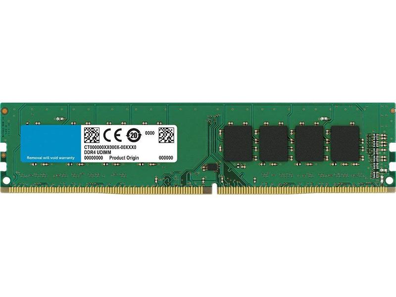 Модуль памяти Crucial DDR4 DIMM 2666MHz PC4-21300 CL19 - 8Gb CT8G4DFS8266