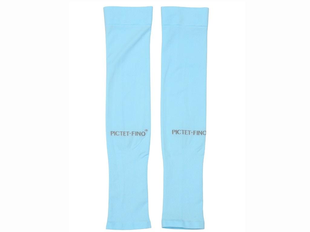 Рукава спортивные компрессионные Pictet Fino RH41 Light Blue 30391