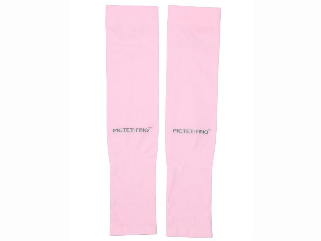 Рукава спортивные компрессионные Pictet Fino RH41 Pink