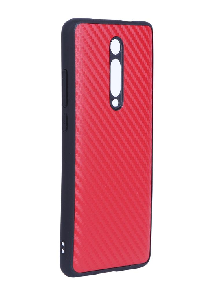 Чехол G-Case для Xiaomi Mi 9T / Redmi K20 Pro Carbon Red GG-1112