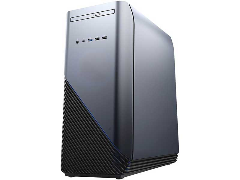 Настольный компьютер DELL Inspiron 5680 MT Silver-Black 5680-8120 (Intel Core i5-8400 2.8 GHz/8192Mb/1000Gb + 128Gb SSD/DVD-RW/nVidia GeForce GTX 1060 6144Mb/Wi-Fi/Bluetooth/Windows 10 Home 64-bit)