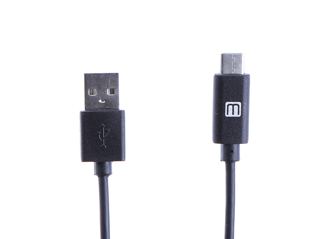 Аксессуар Media Gadget USB 2.0 - Type-C U-TC22 2m Black MGUTC22BK