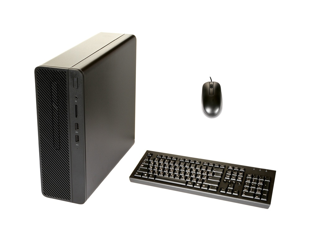 Настольный компьютер HP 290 G1 SFF Black 3ZE01EA (Intel Core i3-8100 3.6 GHz/8192Mb/256Gb SSD/DVD-RW/Intel HD Graphics/Windows 10 Pro 64-bit)
