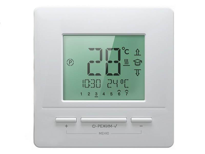 Терморегулятор Теплолюкс Национальный Комфорт ТР 721 White