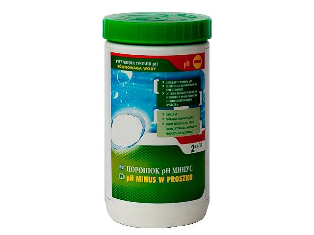 Порошок pH минус HTH 2kg S800812H2