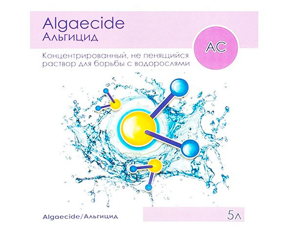 Альгицид непенящийся AquaDoctor 5L AQ1554