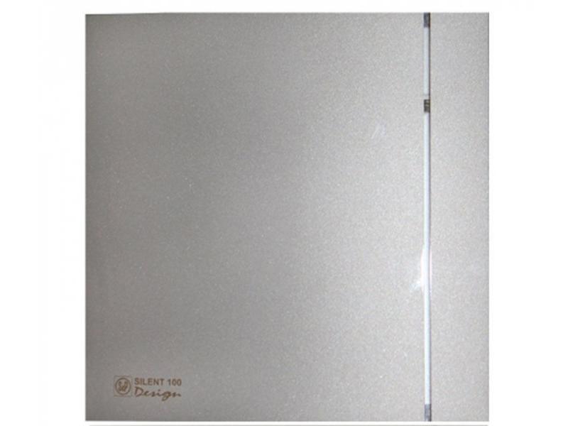 цена на Вытяжной вентилятор Soler & Palau SILENT-100 CRZ DESIGN 4C 8 Вт Silver