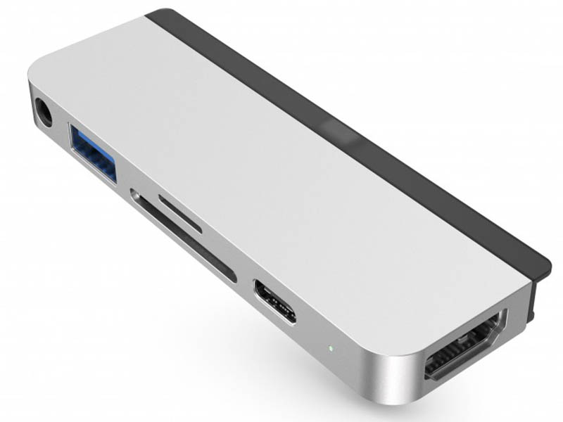 Аксессуар HyperDrive 6-in-1 USB-C Hub Silver HD319-SILVER