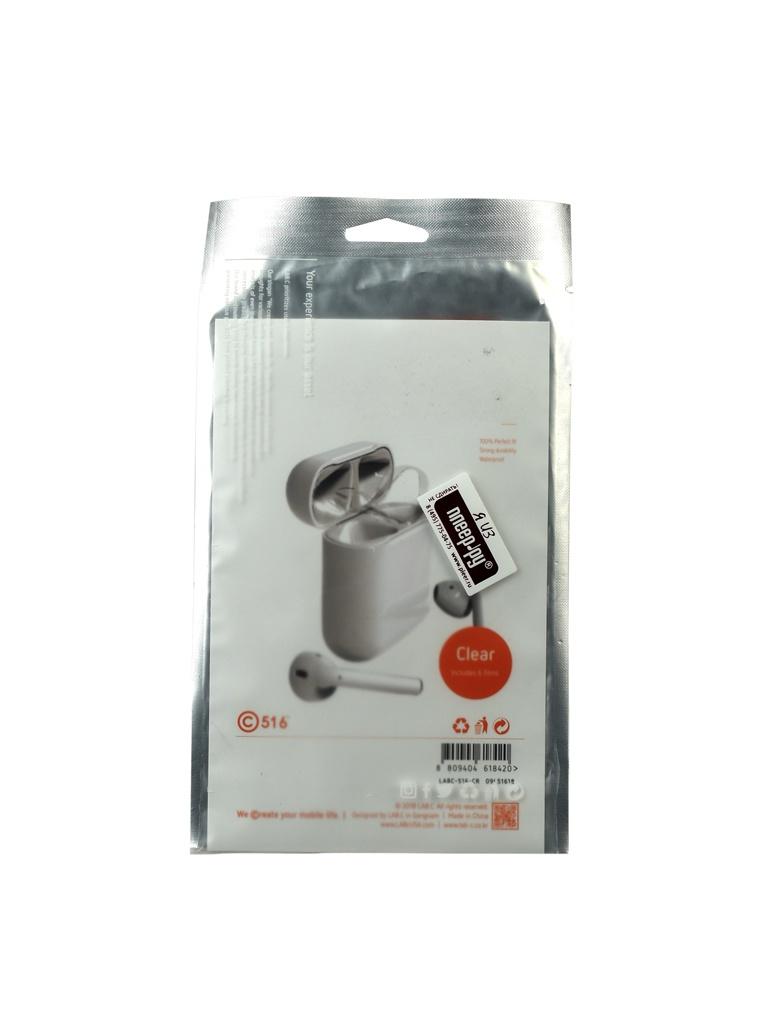 Антипылевые пленки LAB.C Antidust Film для Apple AirPods Silicone Transparent LABC-516-CR