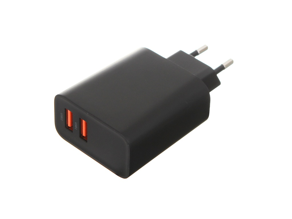 Зарядное устройство Baseus Speed Dual QC3.0 Quick Charger 30W /2xUSB EU Black CCFS-E01