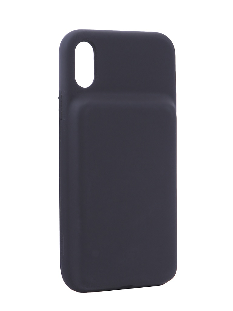 Аксессуар Чехол-аккумулятор Baseus для APPLE iPhone XR Silicone Smart Backpack Power Black ACAPIPH61-BJ01