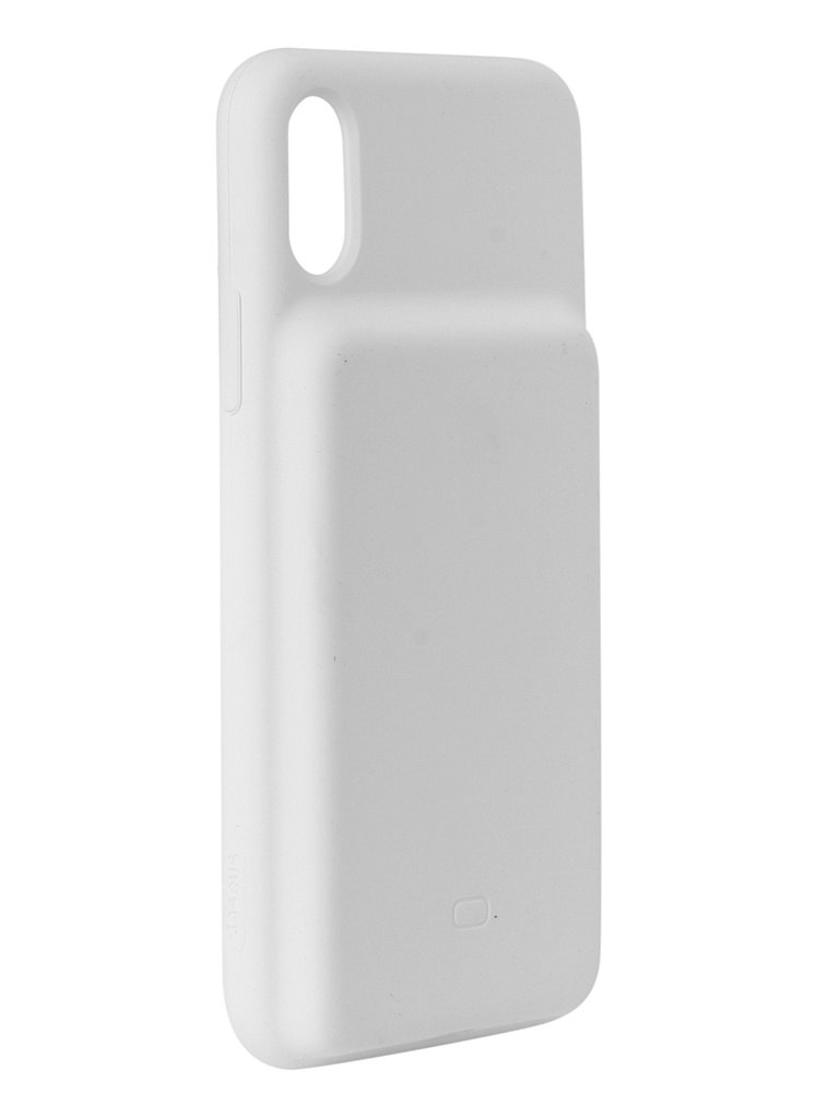 Аксессуар Чехол-аккумулятор Baseus для APPLE iPhone XS Silicone Smart Backpack Power White ACAPIPH58-ABJ02