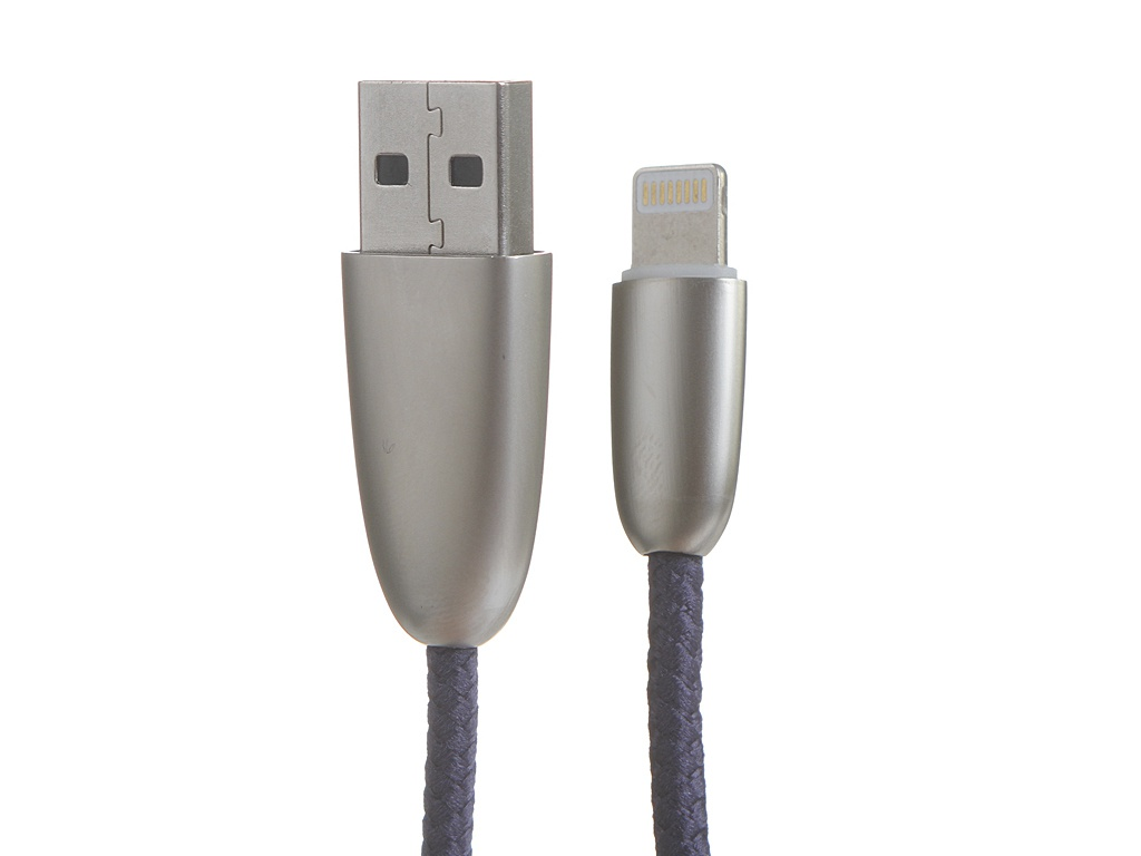 Аксессуар Baseus Torch Series Data Cable USB-Lightning 2.4A 1m Blue CALHJ-C15 фото