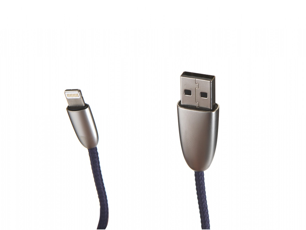 Аксессуар Baseus Torch Series Data Cable USB-Lightning 1.5A 2m Blue CALHJ-B15