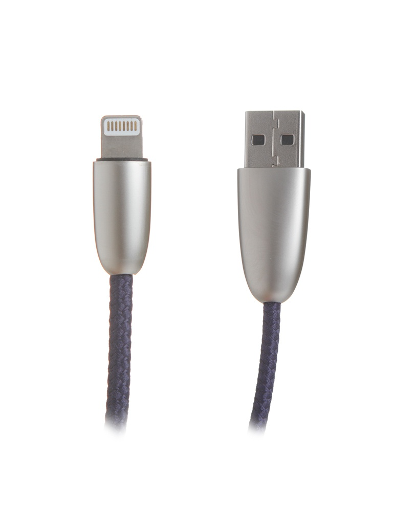 Аксессуар Baseus Torch Series Data Cable USB-Lightning 2.4A 1m Blue CALHJ-A15