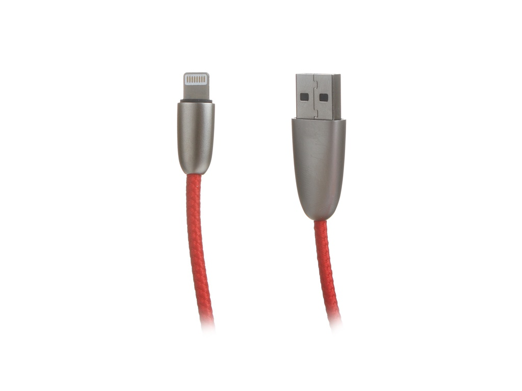Аксессуар Baseus Torch Series Data Cable USB-Lightning 2.4A 1m Red CALHJ-A09