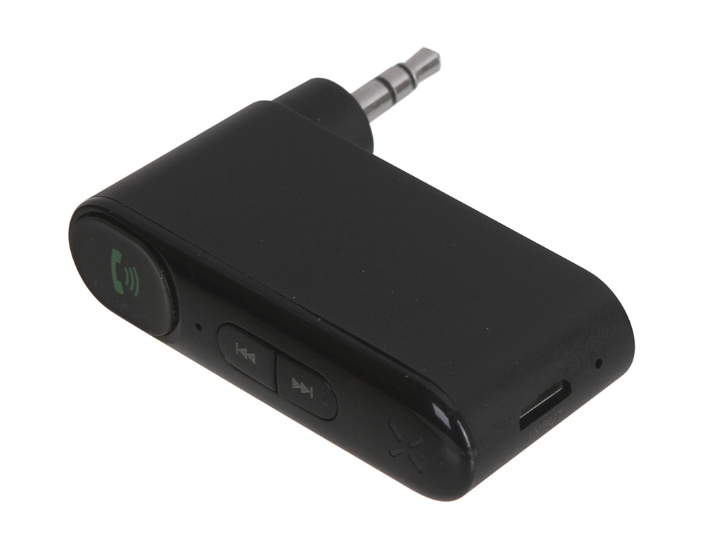 Адаптер Baseus Qiyin AUX Car Bluetooth Receiver Black WXQY-01