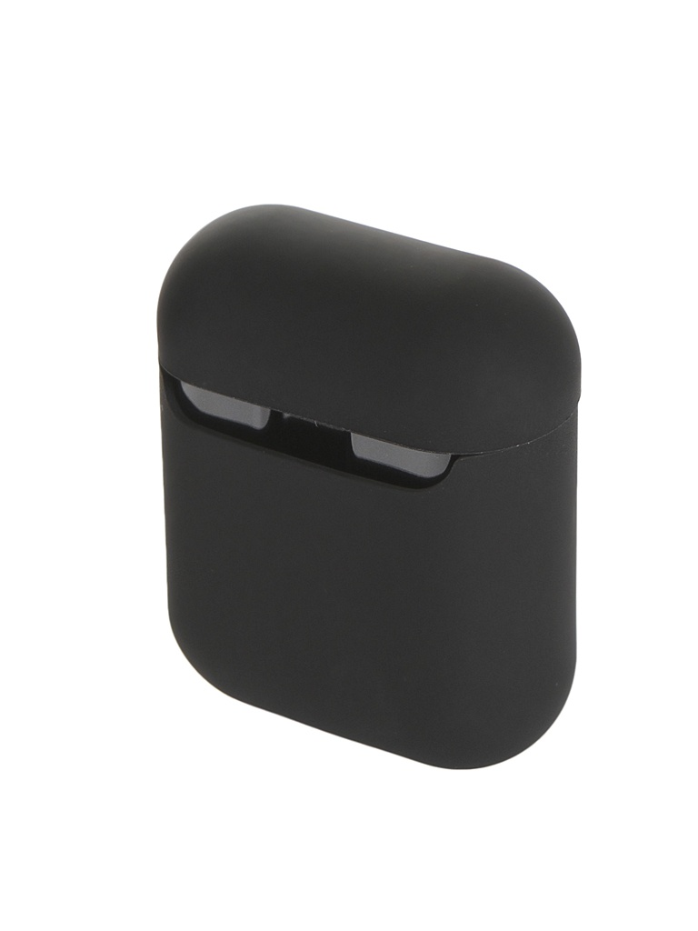 Аксессуар Чехол Baseus Ultrathin Series Silica Gel Protector for Airpods 1/2 Black WIAPPOD-BZ01