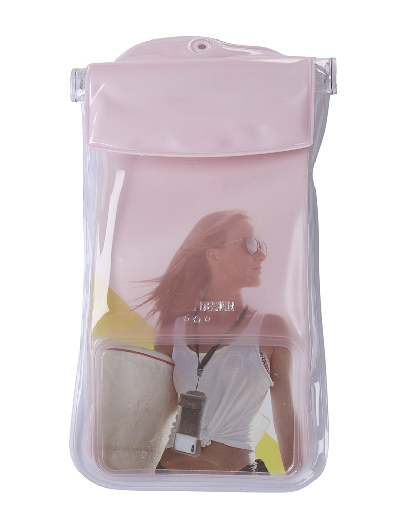 Чехол водонепроницаемый Baseus Safe Airbag Waterproof Case Pink ACFSD-C04
