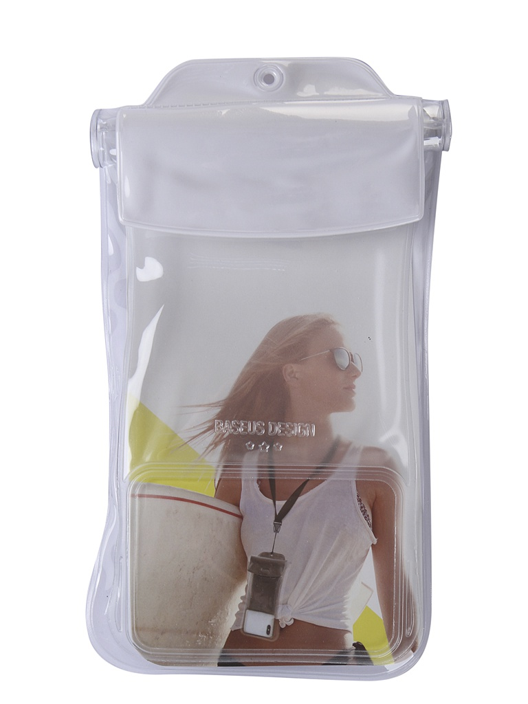 Чехол водонепроницаемый Baseus Safe Airbag Waterproof Case White ACFSD-C02