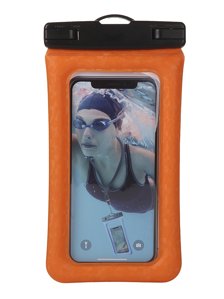 Чехол водонепроницаемый Baseus Air cushion Waterproof bag Orange ACFSD-A07