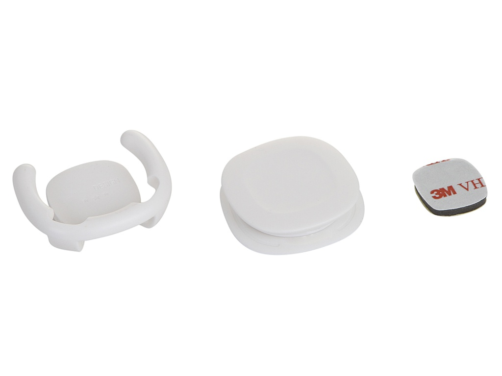 Держатель Baseus Interesting Airbag Support White SUMQN-02