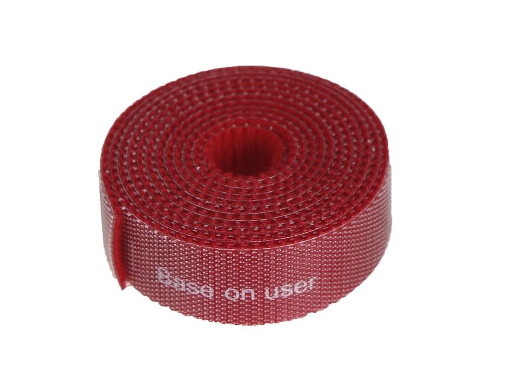 Органайзер проводов Baseus Rainbow Circle Velcro Straps 1m Red ACMGT-E09