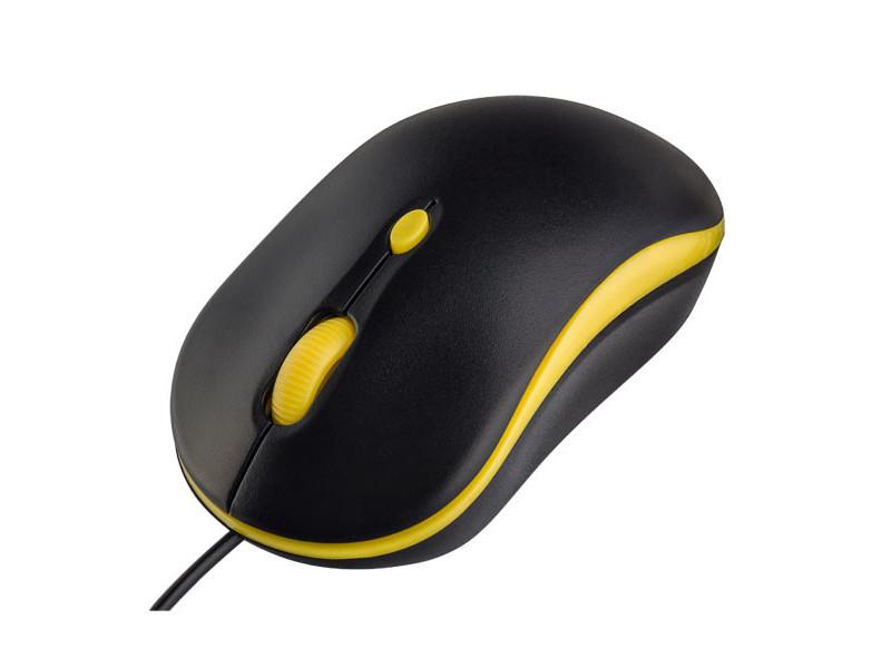 Мышь Perfeo Mount Black-Yellow USB PF_A4511