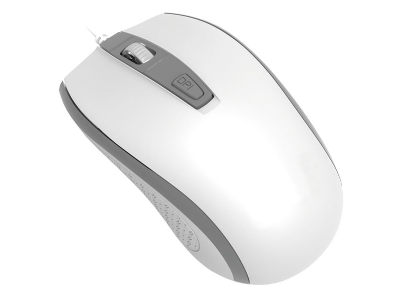 лучшая цена Мышь Perfeo Profil White-Silver USB PF-383-OP-W/GR PF_4931