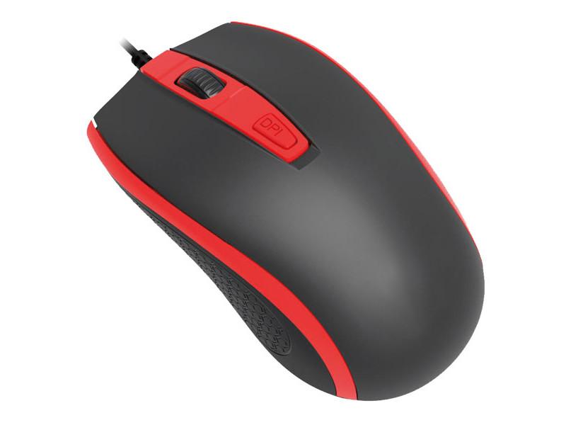 Мышь Perfeo Profil Black-Red USB PF-383-OP-B/RD PF_4928 мышь беспроводная perfeo pf 353 wop or