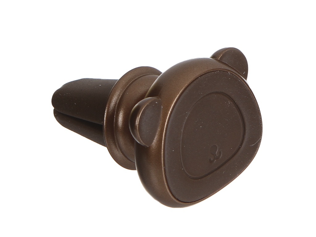 Кольцо-держатель Baseus Bear Finger Metal Ring Grip Stand Holder Brown SUBR-08