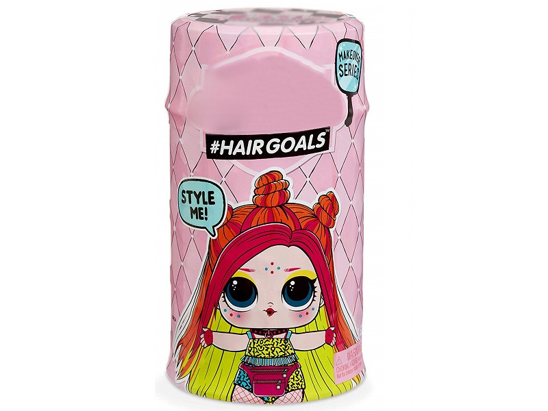 Кукла MGA Entertainment в капсуле LOL Surprise 5 Hairgoals Wave 2 игрушка l o l surprise lil outrageous littles жемчужина цвет бирюзовый