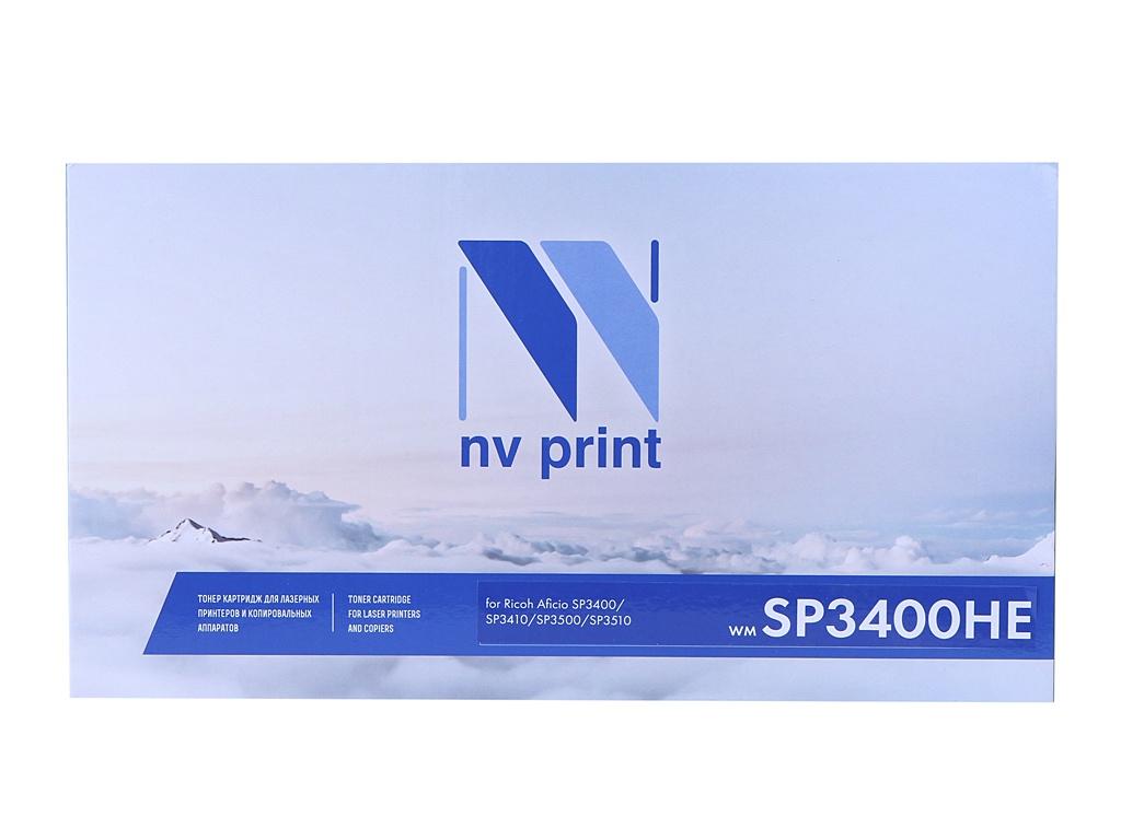 Картридж NV Print NV-SP3400HE для Ricoh Aficio SP-3400/3400n/3400sf/3410/3410dn/3410sf